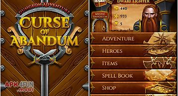 Dungeon adventure: curse of aban..