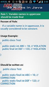38 rules in java
