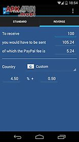 feecalc (for paypal)