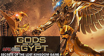 Gods of egypt: secrets of the lo..