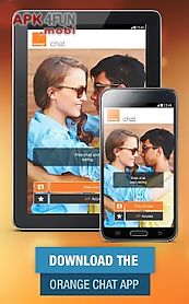 orange chat and dating