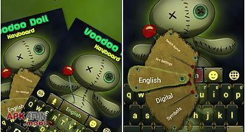 Voodoo doll keyboard