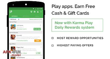 Appkarma rewards & gift cards
