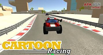 Cartoon racing car games