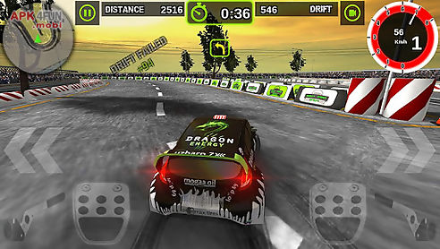 rally racer dirt
