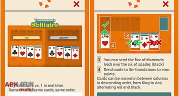 Tournaments solitaire