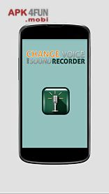 change voice & sound recorder