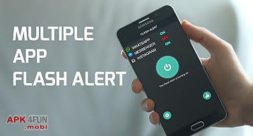 Color flash light alerts call!