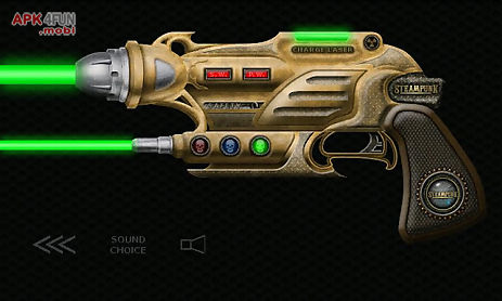 laser guns steampunk ray guns