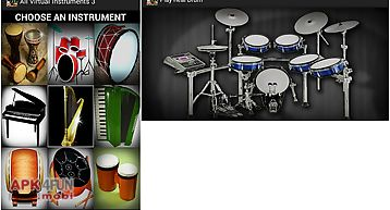 Play all virtual instruments 3
