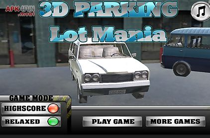 3d parking lot mania - cars