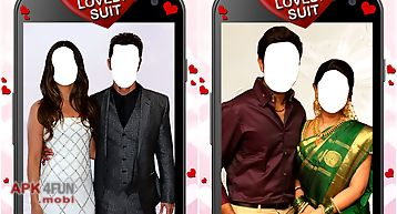 Couple photo lovely suit