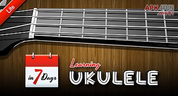 Learning ukulele lite