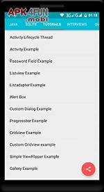 learn android java