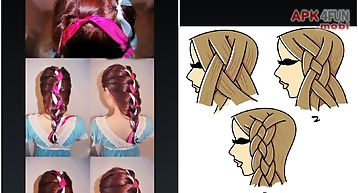 Hairstyle reference step