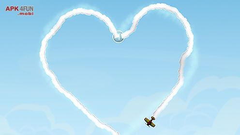 sky writer: love is in the air