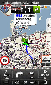 navigation mapamap europe