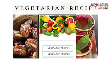 Vegetarian recipes food