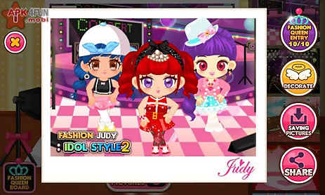 fashion judy: idol style2