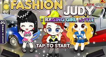 Fashion judy: racing-girl