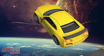Galaxy stunt racing game 3d