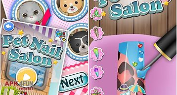 Pets nail salon - kids games