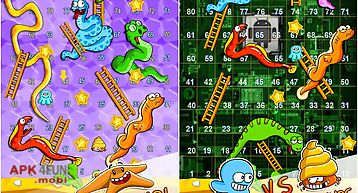 Snakes and ladders in aquarium f..
