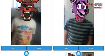 Fnaf photo stickers