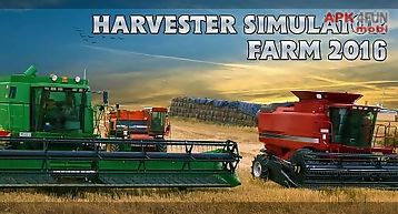 Harvester simulator: farm 2016