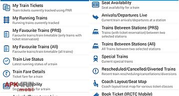 Indian rail guide