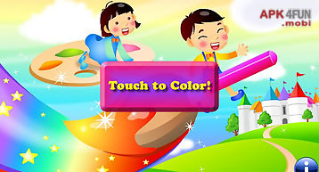 Coloring shapes for toddlers !