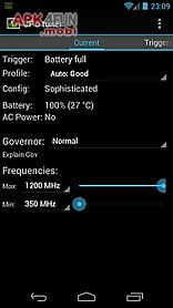 cpu tuner (rooted phones)
