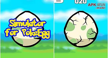 Simulator for pokeegg