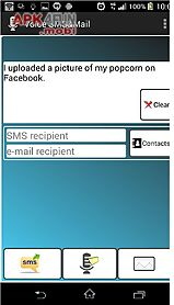 voice sms and mail