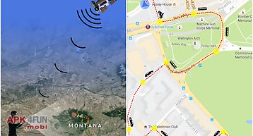 Gps tracking route 2016