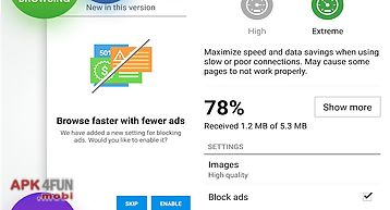 Opera mini for Android free download from Apk 4Free market