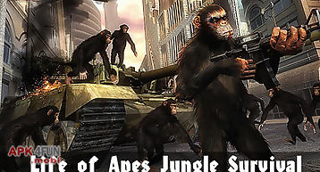 Life of apes: jungle survival