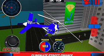 911 police helicopter sim 3d