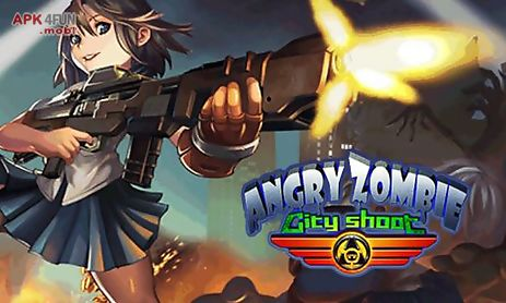 angry zombie: city shoot