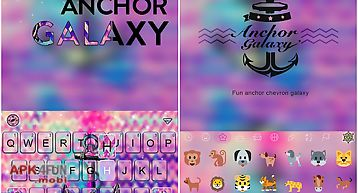 Anchor galaxy emoji keyboard