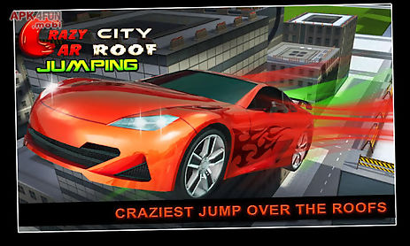 crazy city car roof jumping