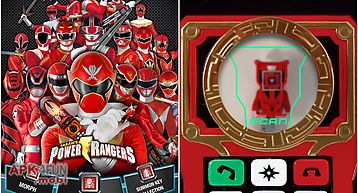 Power rangers key scanner