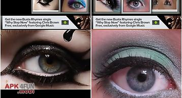 Eye makeup idea book