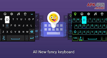 Fancy keyboard : emoji & neon