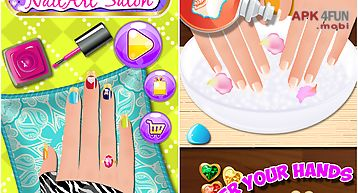 Nail art dress up salon