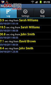 ring duration call timer