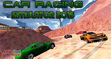 Car racing simulator 2015