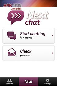 next chat anonymous dating
