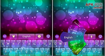 Super color go keyboard theme