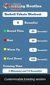 weight tracker and crossfit timer